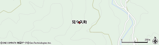 島根県出雲市見々久町周辺の地図
