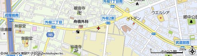 あ・うん周辺の地図