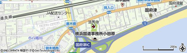 法秀寺周辺の地図