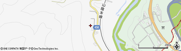 京都府綾部市下替地町(多倉瀬)周辺の地図