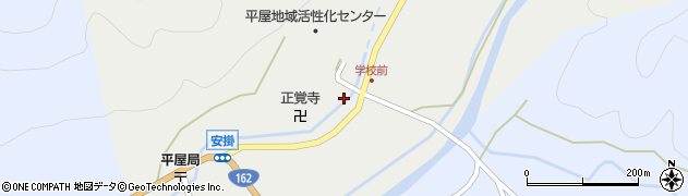 京都府南丹市美山町安掛(寺ノ上)周辺の地図