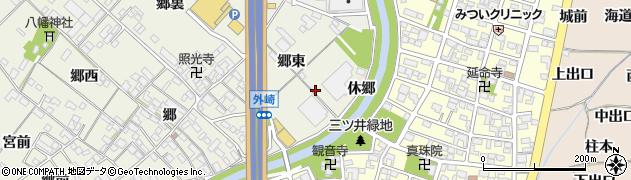 愛知県一宮市丹陽町外崎(上川田)周辺の地図