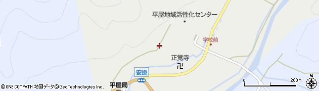 京都府南丹市美山町安掛(墓ノ元)周辺の地図