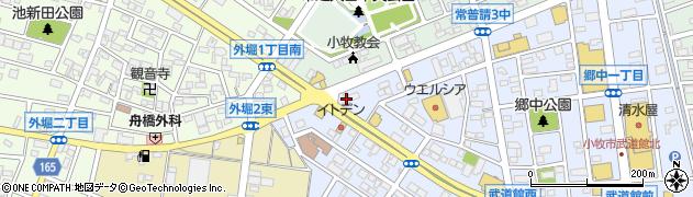 プリマダムKomaki周辺の地図