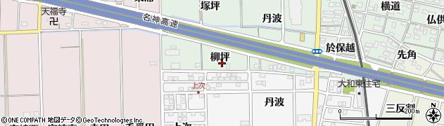 愛知県一宮市大和町妙興寺(柳坪)周辺の地図
