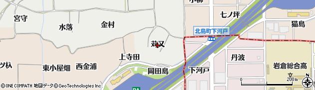 愛知県一宮市丹陽町重吉(苅又)周辺の地図