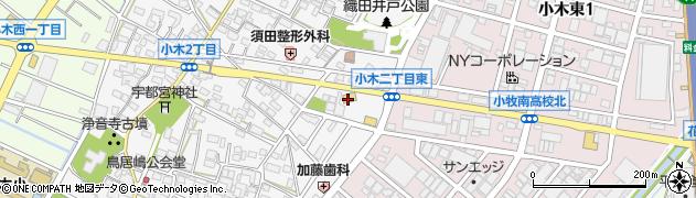 ベビーフェイスプラネッツ 名北店周辺の地図