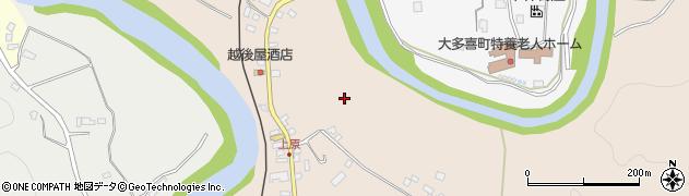 千葉県大多喜町(夷隅郡)柳原周辺の地図
