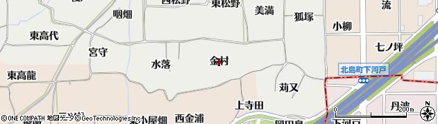 愛知県一宮市丹陽町重吉(金村)周辺の地図