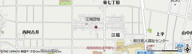 愛知県一宮市明地(鉢池)周辺の地図