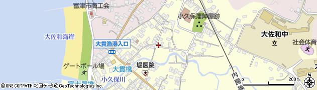 千葉県富津市小久保2917の地図 住所一覧検索|地図マピオン