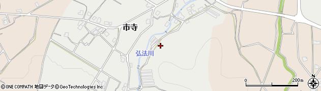 京都府福知山市市寺周辺の地図