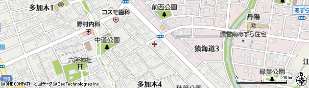 一宮ホルモン周辺の地図