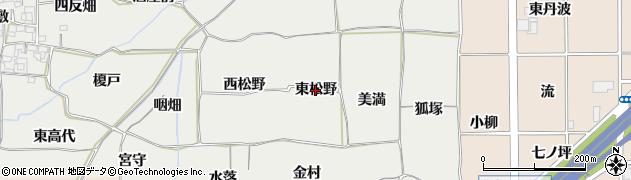 愛知県一宮市丹陽町重吉(東松野)周辺の地図