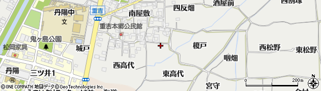 愛知県一宮市丹陽町重吉(東高代)周辺の地図