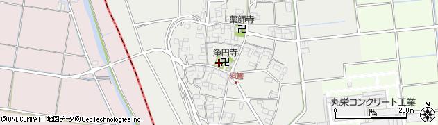 浄円寺周辺の地図