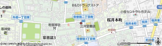 やきとりとっと庵 小牧本店周辺の地図