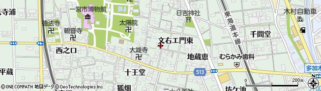 愛知県一宮市大和町妙興寺周辺の地図