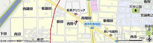 リリー周辺の地図