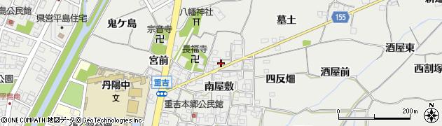愛知県一宮市丹陽町重吉(北屋敷)周辺の地図