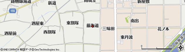 愛知県一宮市丹陽町重吉(藤海道)周辺の地図