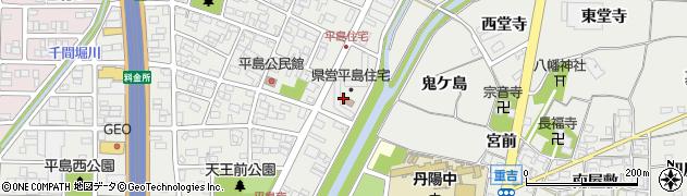 平島住宅周辺の地図