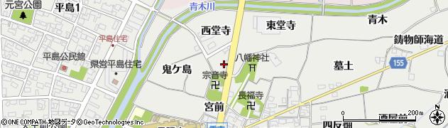 愛知県一宮市丹陽町重吉(西堂寺)周辺の地図