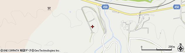 京都府綾部市和木町(白岩)周辺の地図