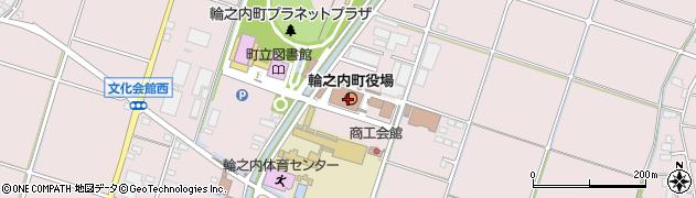 岐阜県安八郡輪之内町周辺の地図
