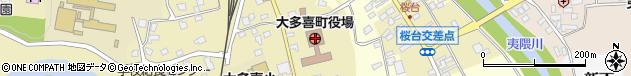 千葉県夷隅郡大多喜町周辺の地図