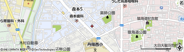 ドッグハウス・ミッキー周辺の地図