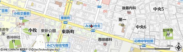 台湾料理 盛源美食城周辺の地図