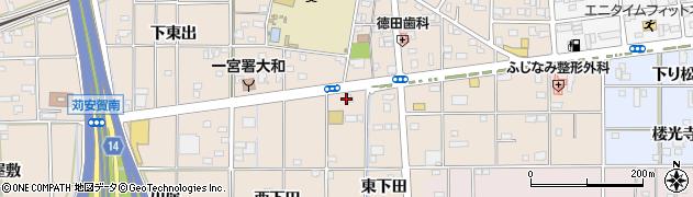 ダンヒル周辺の地図