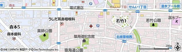 愛知県一宮市丹陽町猿海道(郷浦)周辺の地図