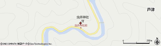 虫井神社周辺の地図