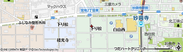 芸能茶館サザン周辺の地図