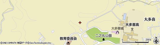 千葉県大多喜町(夷隅郡)大多喜周辺の地図