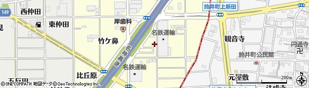 愛知県一宮市千秋町町屋(西野)周辺の地図