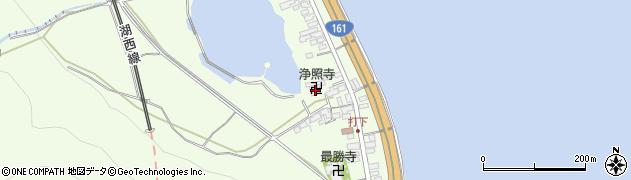 浄照寺周辺の地図