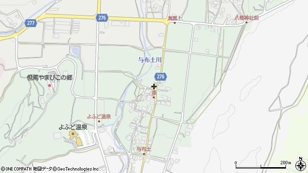 〒669-5135 兵庫県朝来市山東町森の地図