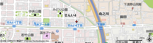 麺喰亭なかなか周辺の地図