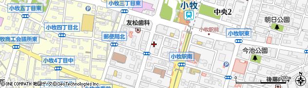 一石周辺の地図