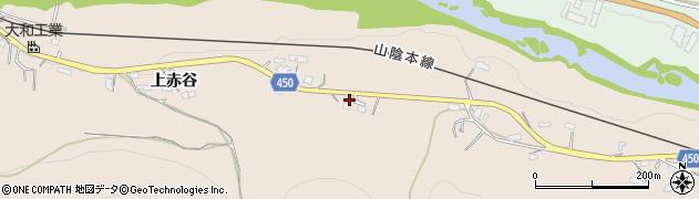 京都府綾部市野田町(広田)周辺の地図