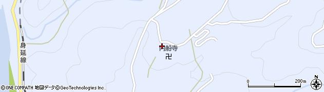 内船寺周辺の地図
