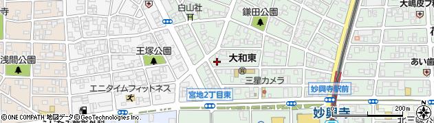 ソルシエル周辺の地図