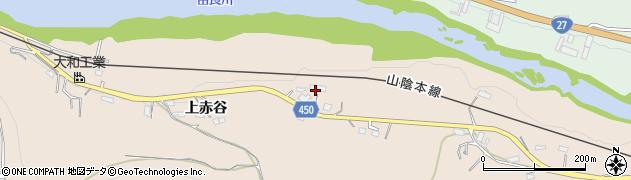 京都府綾部市野田町(番上目)周辺の地図