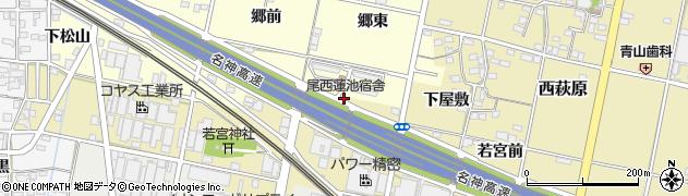 愛ちゃん周辺の地図