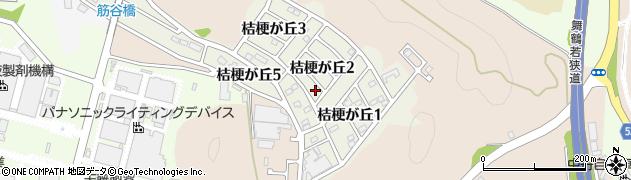 京都府福知山市桔梗が丘周辺の地図