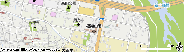 京都府福知山市堀周辺の地図
