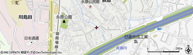 静岡県御殿場市萩原周辺の地図
